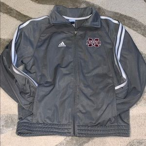 Adidas Youth M jacket MSU